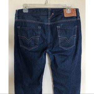 96058ab2 Diesel Jeans - Men's Diesel Larkee 0802A Regular Straight Jeans